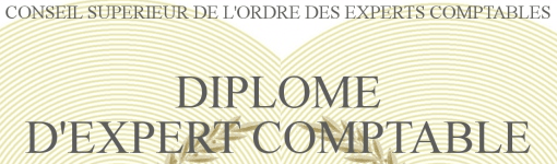 diplome expert comptable formation